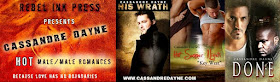 Books by Cassandre Dayne - Click on Picture to Buy