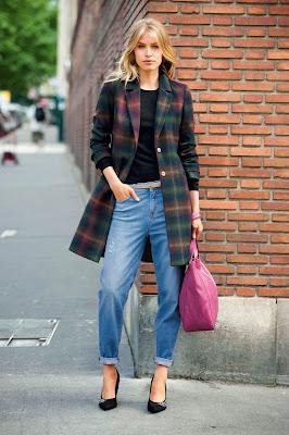 coat, laredoute, winter, aw13, tartan