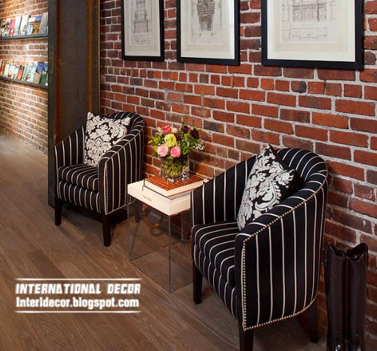 brick wall designs, Brick in the wall, brick wall for classic interior