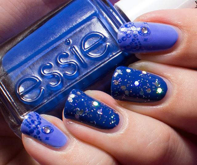 Essie Bikini So Teeny, Essie Mesmerized, China Glaze Techno
