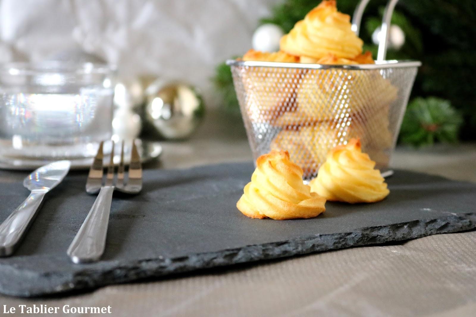 les pommes duchesse ou quand la pomme de terre accompagne vos viandes ou poissons de f tes no l. Black Bedroom Furniture Sets. Home Design Ideas