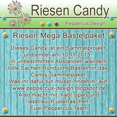 Riesen Sammel Candy bei Peppercus Design