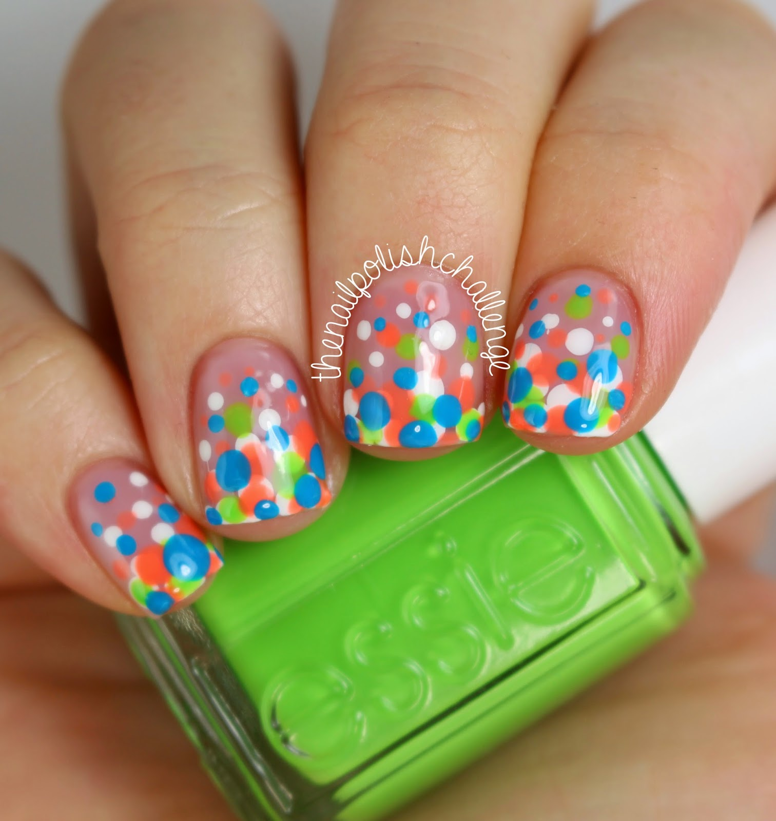 The Nail Polish Challenge: Confetti Dotticure Nail Art (and Tutorial ...