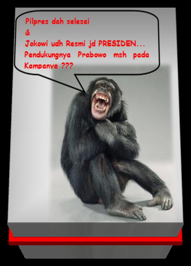 Pendukung Prabowo Stress dan Gila