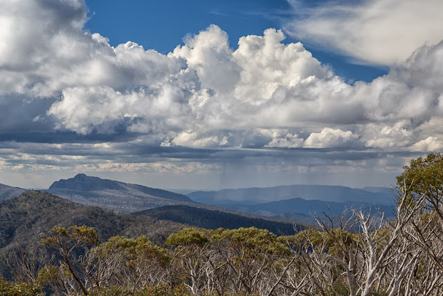 thunder and rain alpine national park