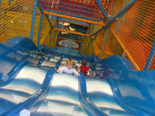 giant bouncy undulating slide