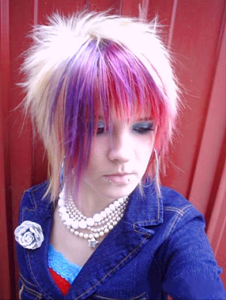 Emo Hairstyles for Girls Hair