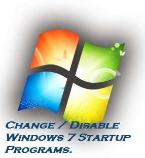 how to change startup programs windows 7 enterprise