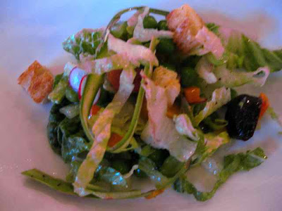 Redd Spring Salad Tasting Menu