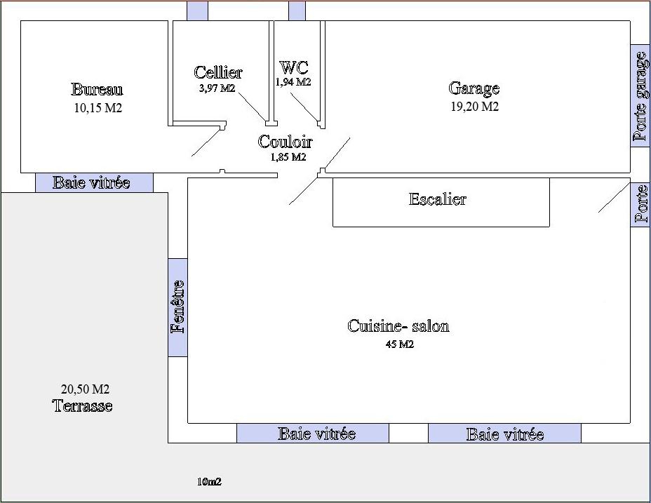 Plan de maison bioclimatique - Plan maison bioclimatique ...
