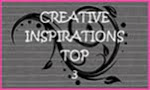 Creative Inspiration- top 3