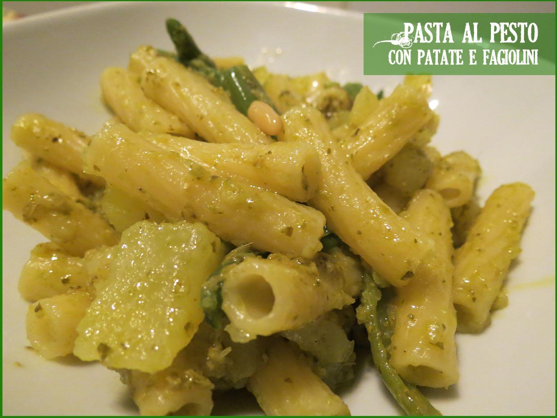 Peccati di gola di lella pasta al pesto con patate e for Cucinare fagiolini