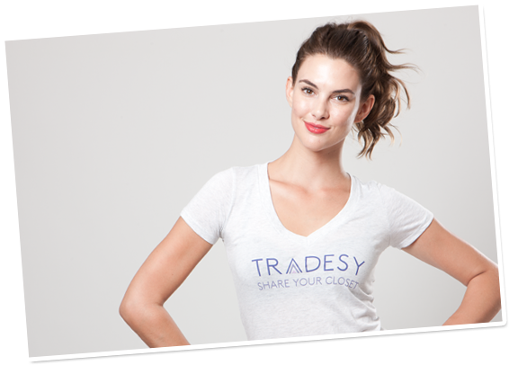 online resale, tradsey, mobile app, fashion apps,