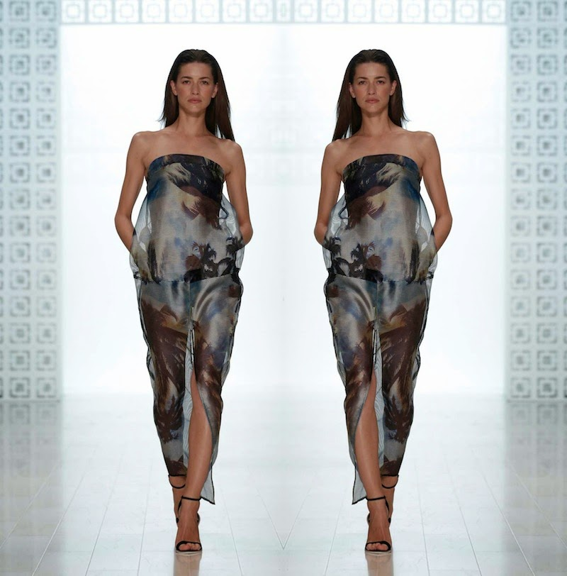 Suboo, MBFWA, SS 201415, tropical trend, palm prints, maxi dress, swimsuits