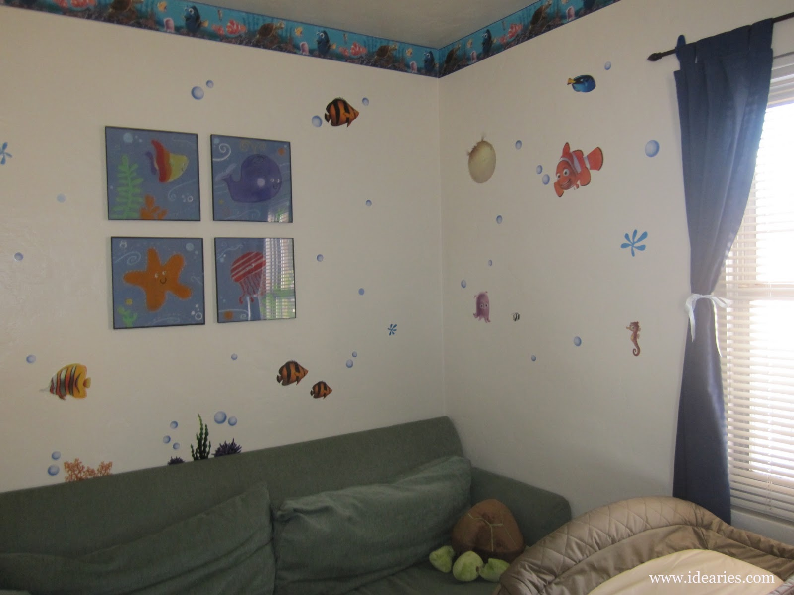 Awesome Stickable wall decals e in all shapes and themes and sites like Wee Decor and Walls Need Love are great places to start You can find ocean themed