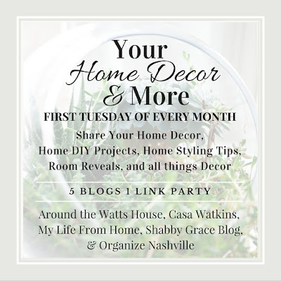 Your Home Decor & More Link Party // Interior Styling Tips & Tricks // Organize Nashville