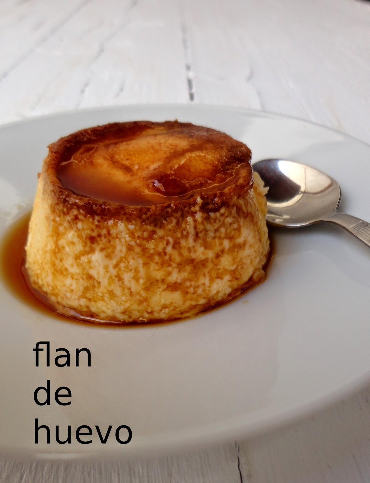 cocinaros Flan de Huevo Casero