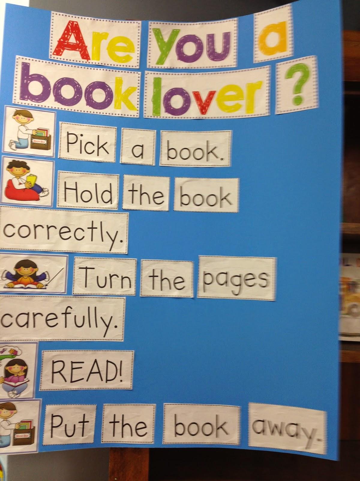 Mrs. Deci\'s Kindergarten Class: Are You A Book Lover?