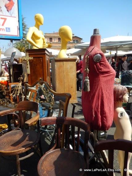 La per laa passeggiando per roma il mercatino di porta - Porta portese milano ...