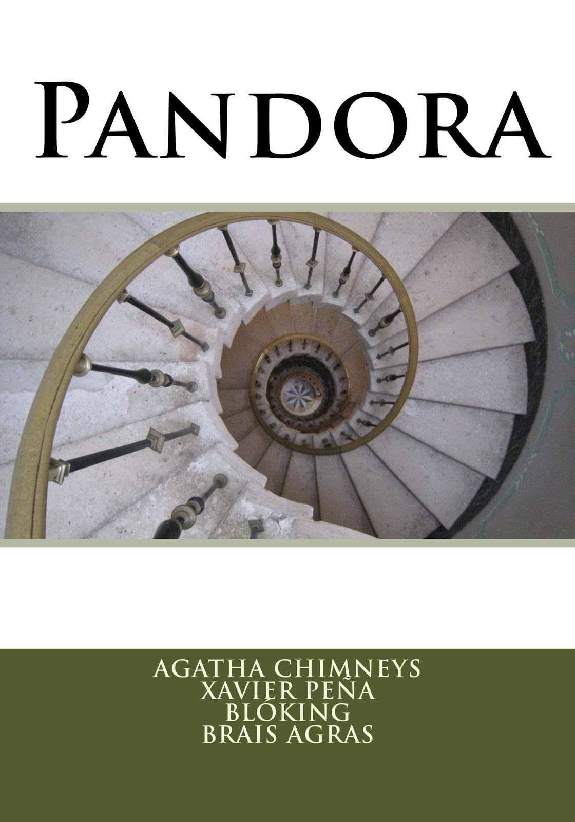 #Pandora (en papel, tapa blanda)