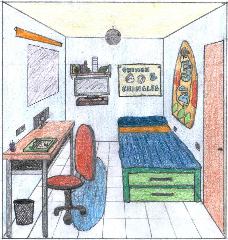 Dormitorio Dibujo ~ Plástica del Turia Habitaciones