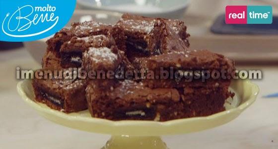 Brownies a Sorpresa di Benedetta Parodi