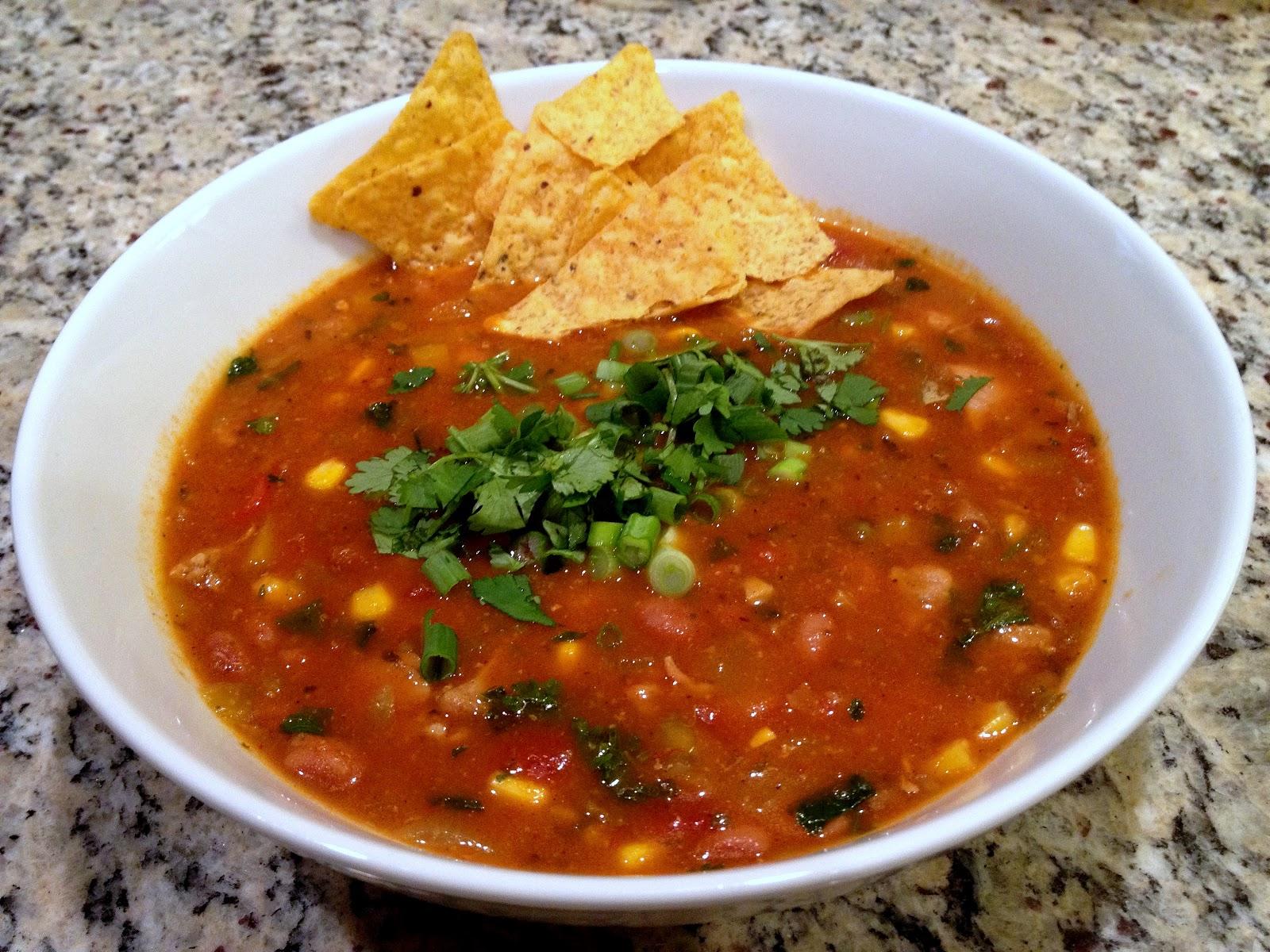 Alosha's Kitchen: Chicken Tortilla Soup