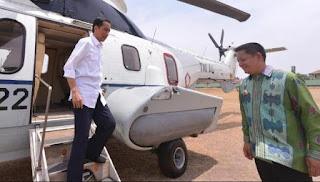 image helikopter presiden jokowidodo