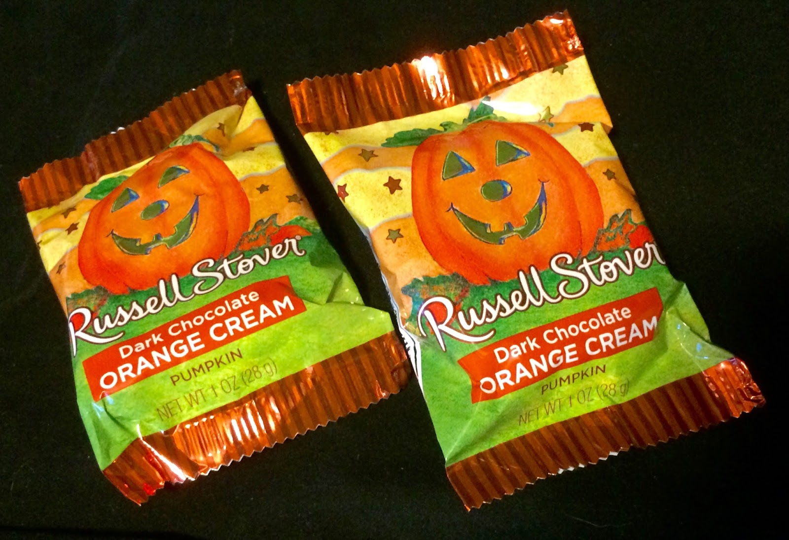 obsessive sweets: halloween candy season: russell stover dark
