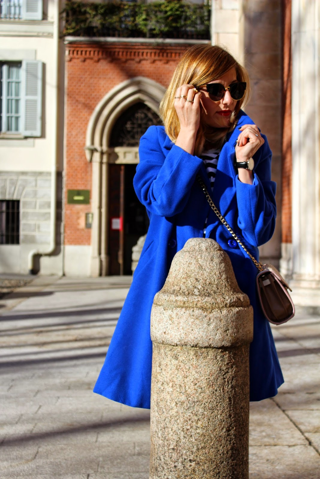 Eniwhere Fashion - Cappotto Choies - Outfit Milano