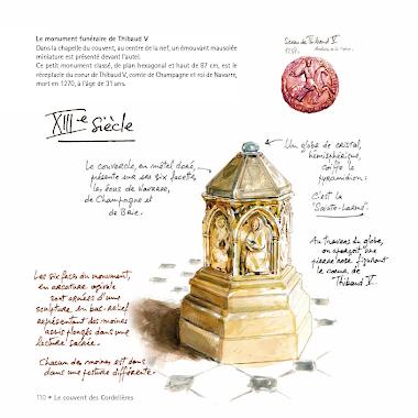 Le monument de Thibaud V