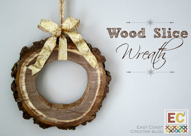 http://eastcoastcreativeblog.com/2012/12/diy-wood-slice-wreath.html