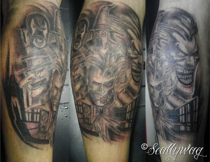 Japanese Batman Tattoo Batman Villains Tattoo Art