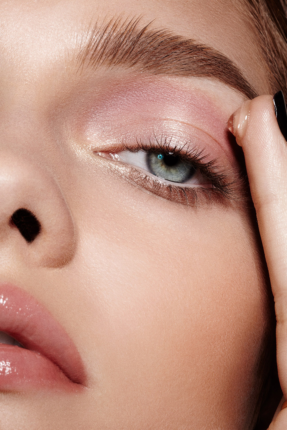 Maybelline Advertising Images With Refinery 29 Makeup Application Color  Blur How To Dye Eyebrows Top Beauty