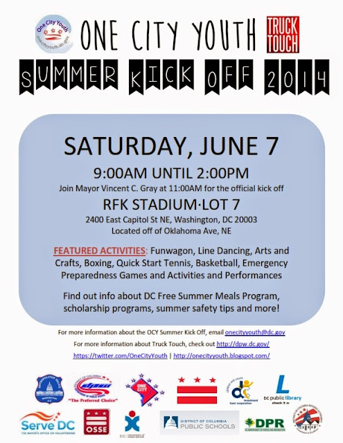 One City Youth: Spread the word: Summer Kickoff at Truck Touch June 7