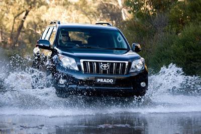 Foto dan Gambar Eksterior Toyota Prado TXL Offroad Indonesia