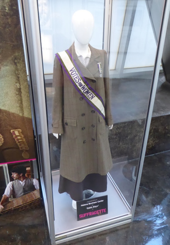 Helena Bonham Carter Suffragette film costume