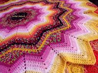 Round Ripple crochet