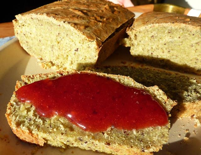 como preparar pan vegano de legumbres