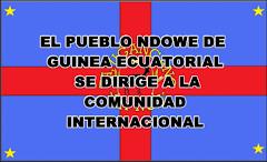 GUINEA ECUATORIAL: MENSAJE INSTITUCIONAL DEL PUEBLO NDOWÉ  A LA COMUNIDAD INTERNACIONAL, 20/06/2014