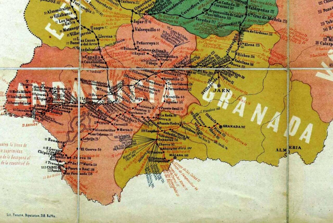 Región de Granada 1910