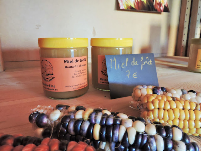 Miel de foret Terre de miel Walhain