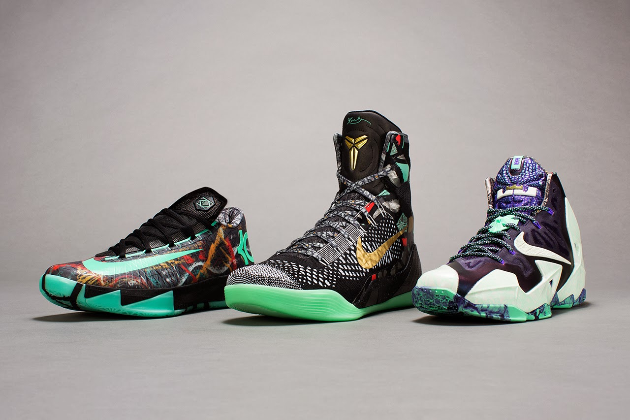 ac36f57637d5 With the NBA All-Star Game in New Orleans Nike has released it s Top 3  Sneakers from King James