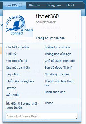 Cách Việt hóa XenForo 1.1.5 - 1.1.3 [ Language Tiếng Việt ]