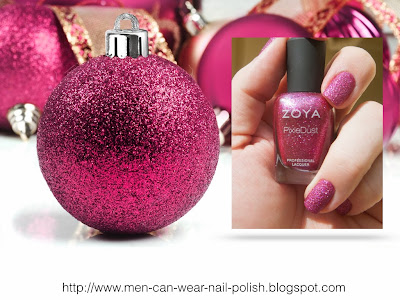 glam nail polish pink nail polish on men