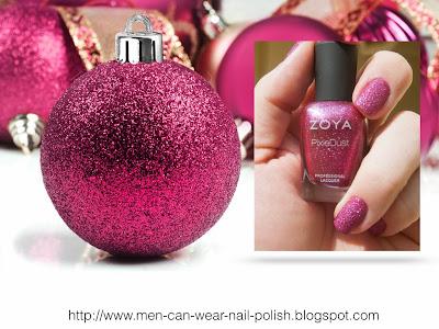 glam nail polish pink nail polish on men