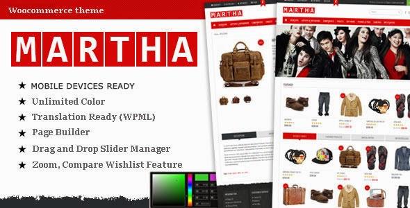 Martha – Woocommerce Premium Theme