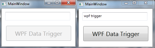 wpf data triggers