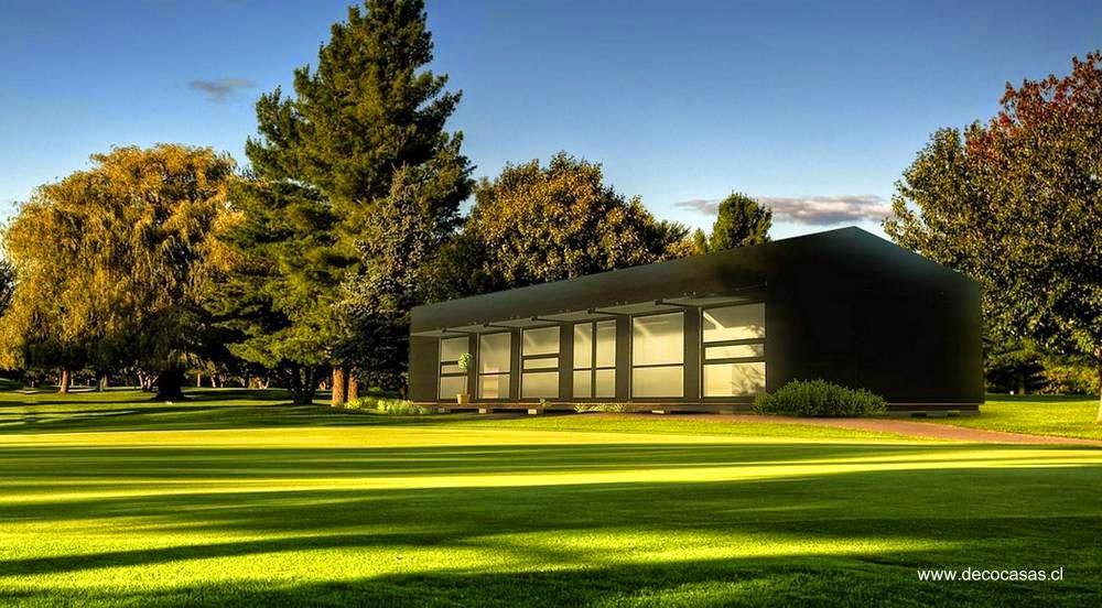 Arquitectura de casas modelos de casas prefabricadas en - Casa prefabricada moderna ...