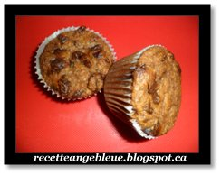 recettes angebleue muffins aux canneberges chocolats dattes diab te. Black Bedroom Furniture Sets. Home Design Ideas